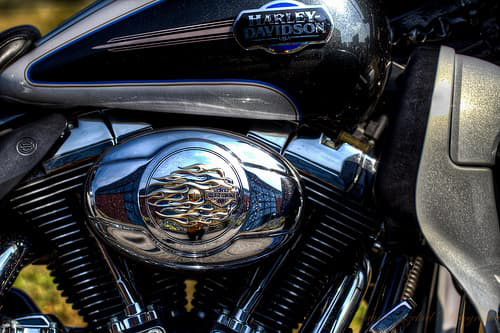 Nova Scotia Motorcycle Insurance harley davidson close up