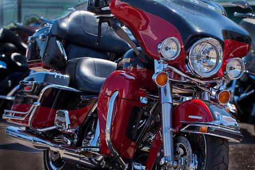 Nova Scotia Motorcycle Insurance red cruiser