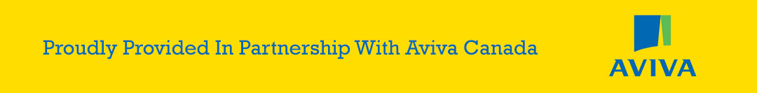 Proudly Provided In Partnership With Aviva