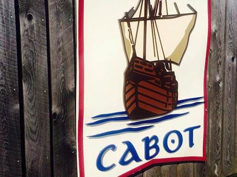 Inverness Cabot Links signage