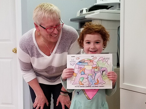 Pictou Winter Carnibal colouring contest 2019